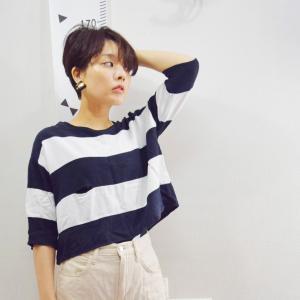 【ユニクロ】パンツ×ボーダーシャツでコーデ&楽天マラソンお得なアイテム!!