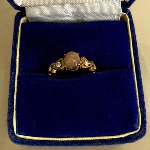 呪われたブラックオパールの指輪