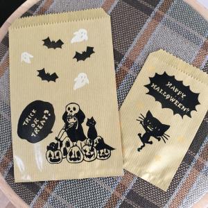 ハロウィン紙袋。