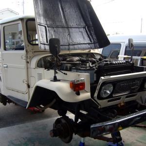 トヨタ・ランドクルーザー(BJ46V)の車検整備