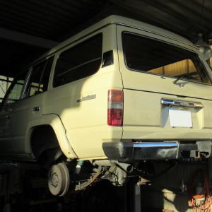 トヨタ・ランドクルーザー(HJ61V)の車検整備