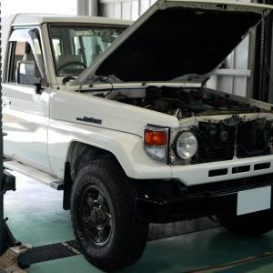 トヨタ・ランドクルーザー(HZJ74V)のHID取付