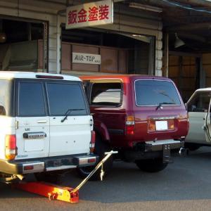 トヨタ・ランドクルーザー4台入庫中