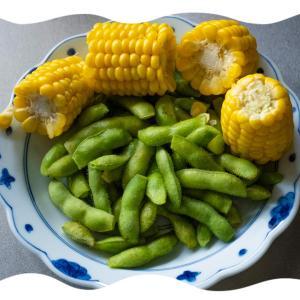 枝豆祭りで食べ比べ
