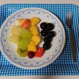 american cherry cut fruits