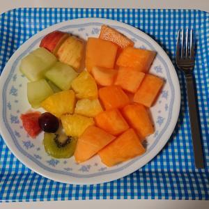 fruits mix melon