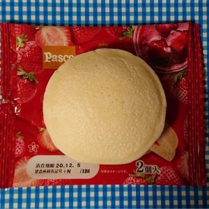 amaou strawberry pan cake