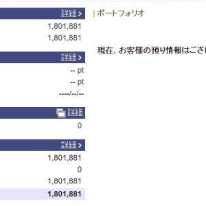 株を始めて14年7ヵ月。100万円は。。。