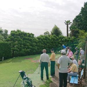 久々の緑ゴルフコース月例会