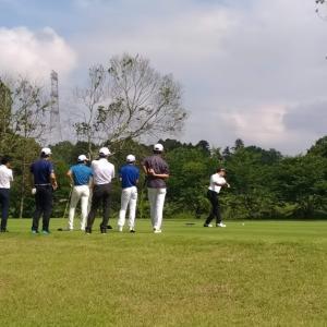 年末、今年最後のゴルフかな