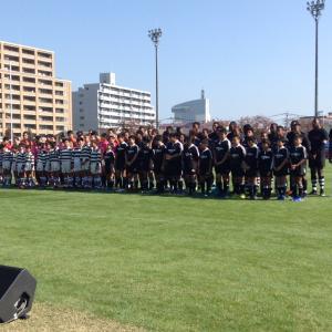 ラグビー観戦   フィジー選抜 対 日本