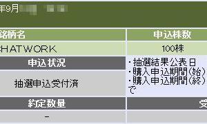 Chatwork[チャットワーク](4448)のIPO(新規上場)複数当選!