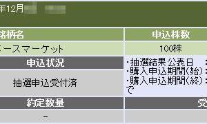 スペースマーケット(4487)のIPO(新規上場)補欠当選!