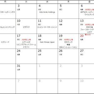 IPOラッシュ時に便利!?IPO(新規上場)カレンダー3月バージョン!