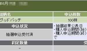 グッドパッチ(7351)のIPO(新規上場)補欠当選!