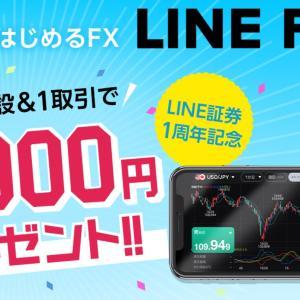 わずか2タップ!?LINE FXのキャンペーンで5,000円GETするための説明書!