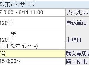 アイ・パートナーズフィナンシャル(7345)のIPO(新規上場)抽選結果と公募価格!