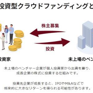 株式投資型クラウドファンディング投資案件公開!イグジット経験あり!