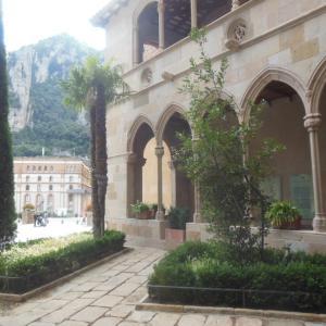僧院の回廊