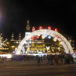 クリスマス市(市庁舎前広場)