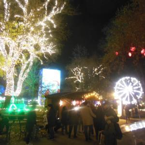 クリスマス市(市庁舎前)乗り物