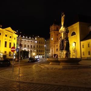 夜のフライウング広場