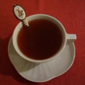 寒い夜のお茶