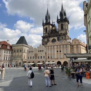 晴天のプラハ
