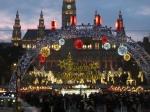本日開幕 Christkindlmarkt auf dem Rathausplatz2019