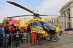 オーストリアの救急ヘリコプター