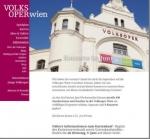 特報 Volksoperが6月に特別公演実施