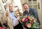 90歳のお誕生日を迎えたOtto Schenkさん