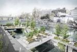 ドナウ運河に新しい水上公園が建設されます