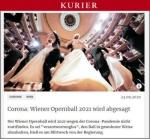 Wiener Opernball 2021中止の衝撃