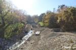 工事が進むIntegrativer Hochwasserschutz Liesingbachプロジェクト