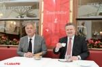 祝営業再開 ウィーン市長と商工会議所会頭がCafé Frauenhuberを利用