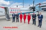 オーストリア航空からターボプロップ機が引退