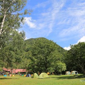 上高地へキャンプに行ってきました