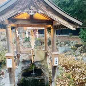 〔大野市スポット〕目に効く御霊泉・篠座神社で心もカラダも