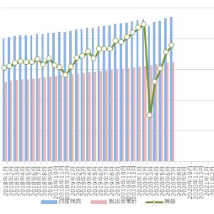 確定拠出年金(iDeCo)の運用状況 2020年7月