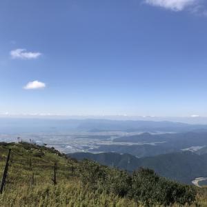 秋の行楽シーズン、登山に行ったよ。