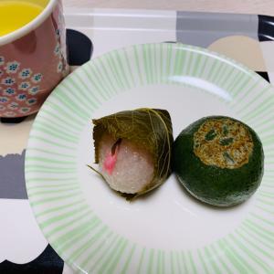 ゆっくり和菓子を。
