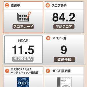 楽天GORA HDCP