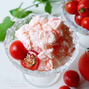 トマトのフローズンヨーグルト
