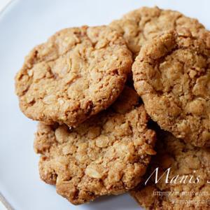 オートミールのザクザククッキー
