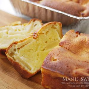 りんごのヨーグルトケーキ
