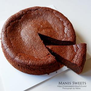 久しぶりにウォーターチョコレートケーキ