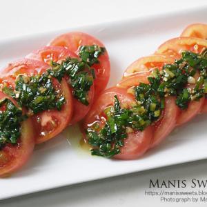 栃木産トマトサラダ