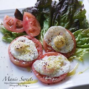 可愛いトマトのサラダ