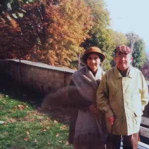 フランス滞在中の両親 その二